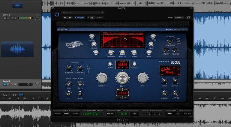 McDSP EC-300 Echo Collection Delay Plug-in Effekt Digital