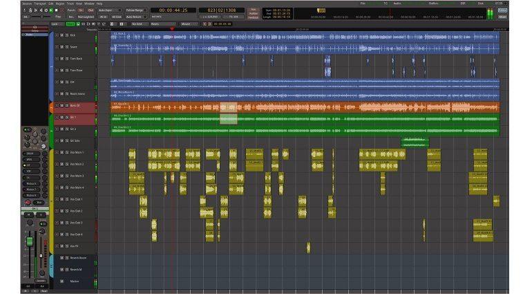 Mixbus 4 Editor