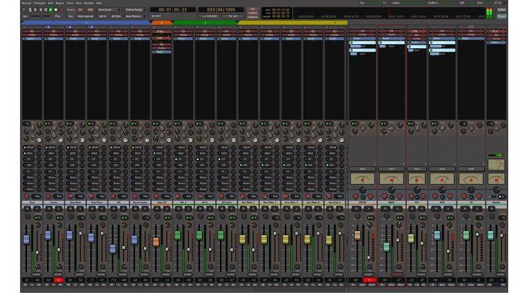 Mixbus 4 Mixer