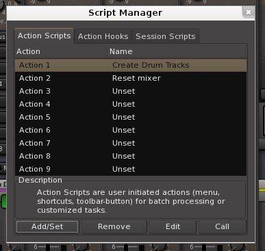 mixbus 4 script manager