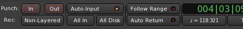 mixbus 4 toolbar adds