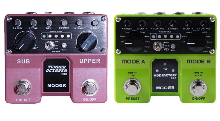 Mooer Tender Octaver Pro Mod Factory Pro Effekt Pedal Front