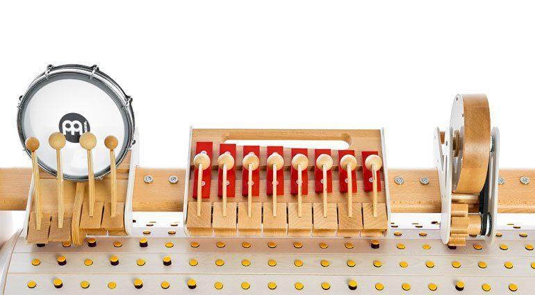 musicon Instrumente closeup