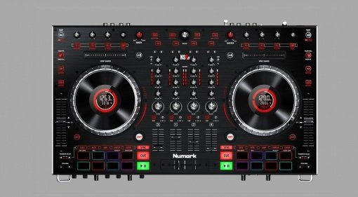 Numark NS6II Top