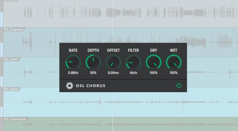 OSL Chorus Plug-in GUI Studio One