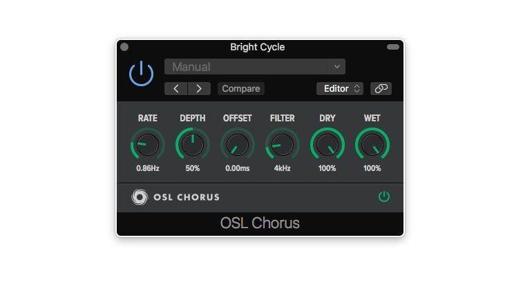 OSL Chorus Plug-in GUI