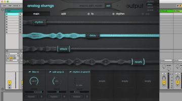 Output Analog Strings - virtuelle Streicher mit viel Modulation
