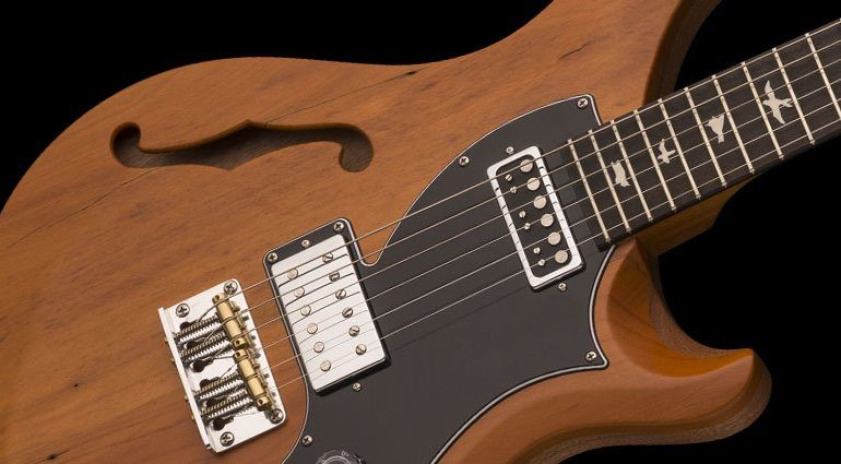 Paul Reed Smith PRS Reclaimed Wood S2 Vela Close up