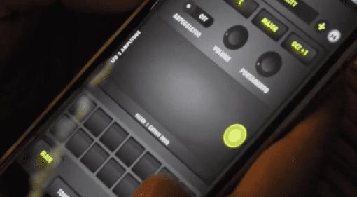 Pier Lim TF8 Synth - ein iPhone Synthesizer mit viel Bass