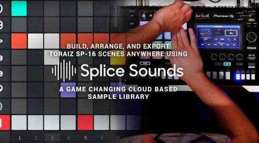 Pioneer Toraiz SP16 und Splice Sounds