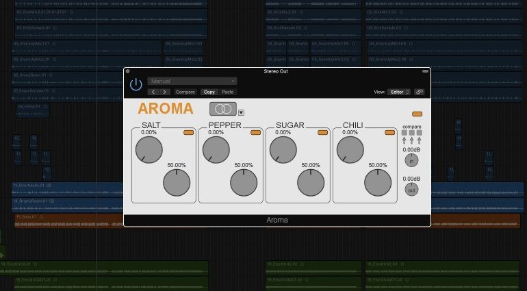 ploytec aroma plug-in saturation gui logic x teaser