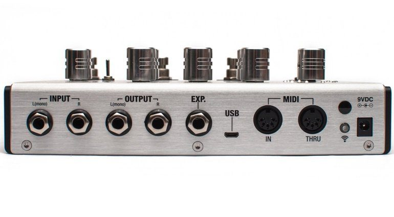 Positive Grid Bias Delay Hardware Modelling Pedal Back
