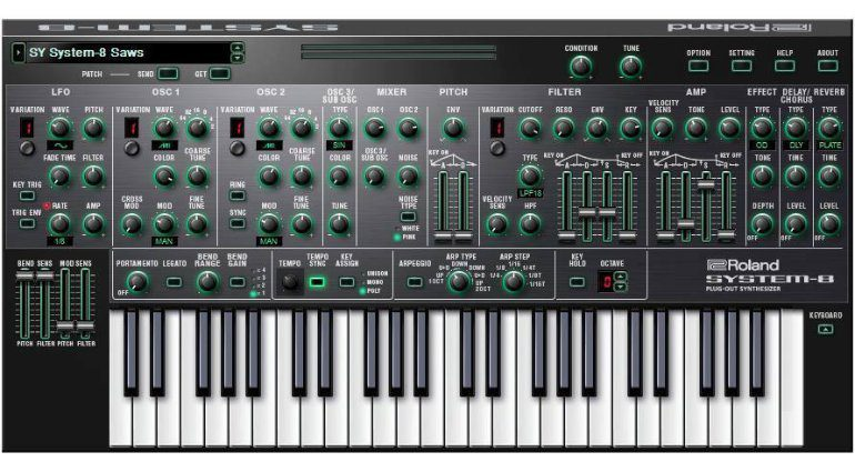 Roland System 8 Plugin