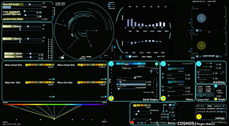 Sonic Lab Cosmosf v4 und v4S - experimentelles Sounddesigning par excellence