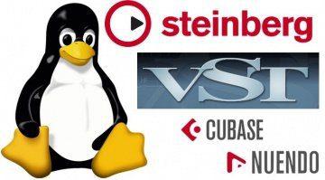 Steinberg VST Linux Cubase Nuendo Tux