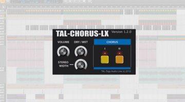 TAL Chorus Plug-in Freeware Tipp GUI Teaser Bitwig Studio 2