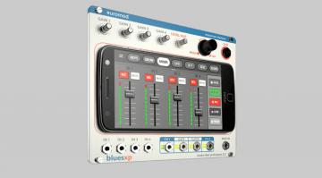 The Bluesxp Euromod integriert das Smartphone in ein Modular System