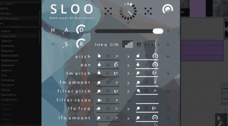 Tim Exile SLOO - Voice Swarm Synthesizer mit live Features