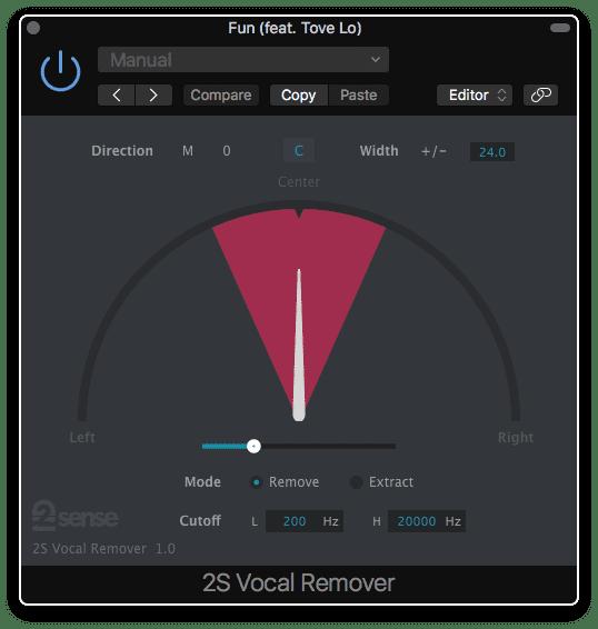 2nd Sense Audio VocalRemover