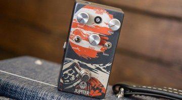 Walrus Audio Jupiter Fuzz V2 Pedal Effekt FX Front