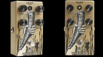 Walrus Audio Warhorn Overdrive Pedal Front Slant Teaser_b