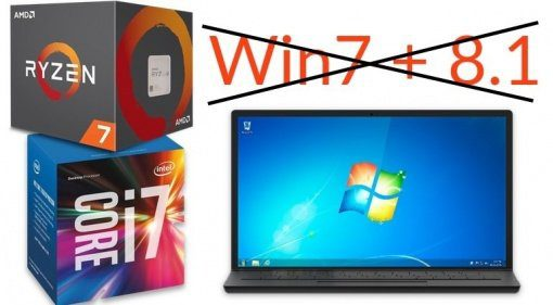 Windows 7 AMD Intel Microsoft Laptop No Support Teaser