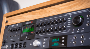 Musikmesse 2017: Antelope Goliath HD - neues Flaggschiff Audiointerface