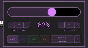 Arthur Kerns midiFILTr-PG - MIDI-Wahrscheinlichkeiten mit dem iPad