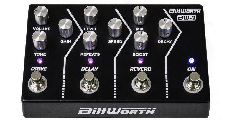 Biltworth BW-1 Multi Effekt Pedal Front