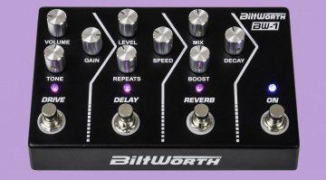 Biltworth BW-1 Multi Effekt Pedal Front Teaser