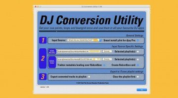 DJ Conversion Utility von ATGR