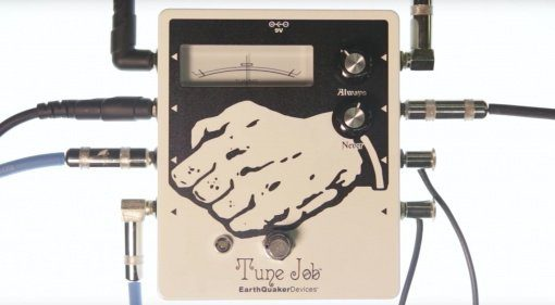 Earthquaker Devices Tune Job Pedal Front Aprilscherz April Fools