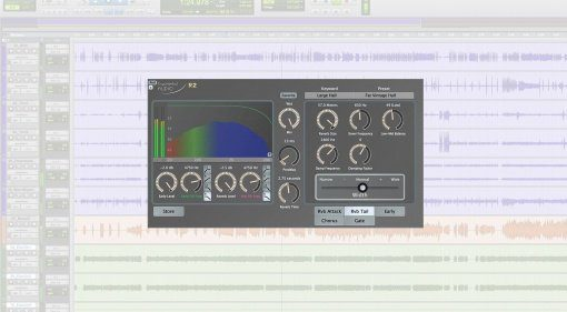 Exponential Audio R2 Reverb Plug-in GUI Pro Tools Teaser