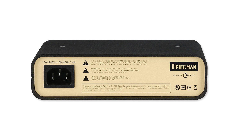 Friedman Power Grid 10 Netzteil Back