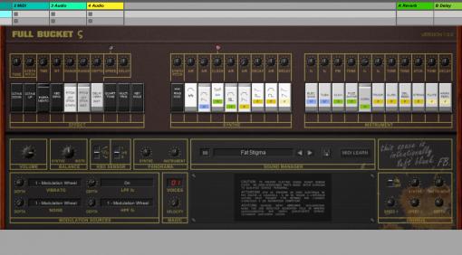 Full Bucket Music Stigma - kostenloser KORG Sigma KP-30 Synth für Windows