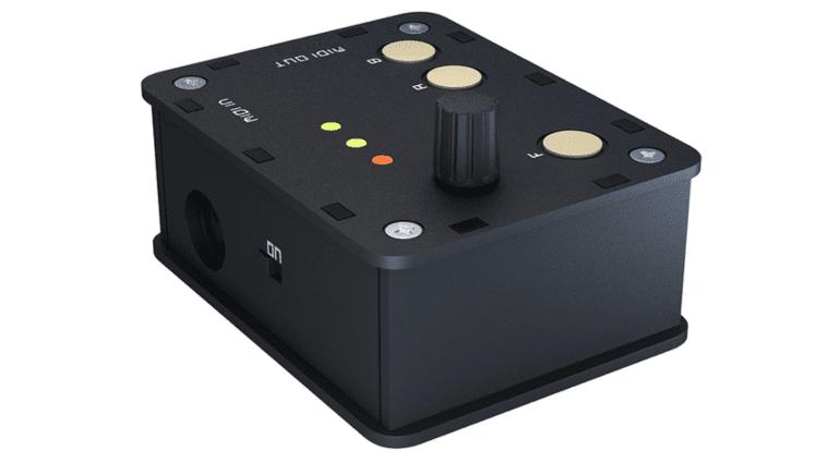 Gibbon Digital Goliath - der 16fache MIDI-Regler