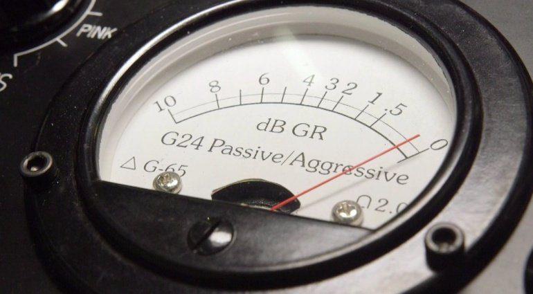 Gyraf Audio G24 Passive Hardware Compressor GR MEter