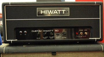 HiWatt Custom 50 Topteil Front