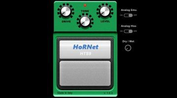 HoRNet HTS9 Tube Screamer TS-9 PLug-in Emulation GUI
