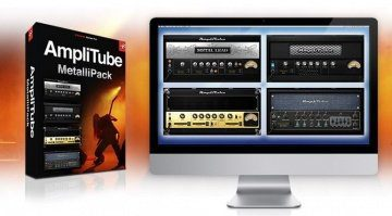 IK Multimedia Amplitube MetalliPack Free