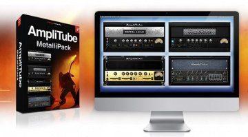 IK Multimedia Amplitube MetalliPack Free