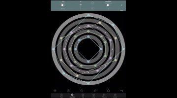Jeff Holtzkener Concentric Rhythm - mit Geometrie zum Groove in iOS