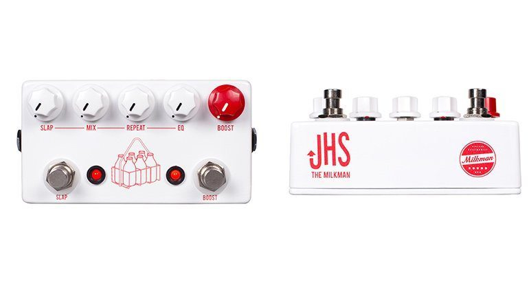 JHS Pedals Milkman Delay Boost Slapback Front