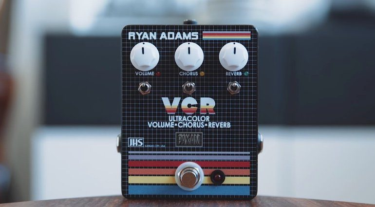 JHS VCR Signature Ryan Adams Pedal Front