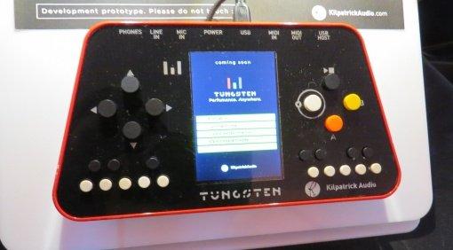 Kilpatrick Audio Tungsten Performance Controller Front