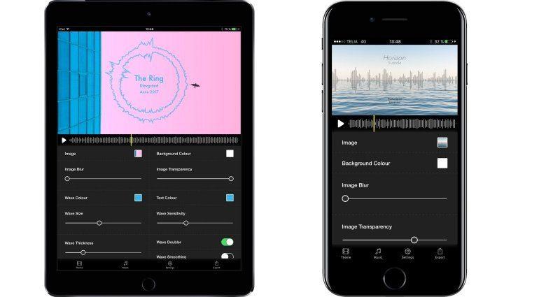 Klevgränd Wizibel iOS iPad iPhone App GUI