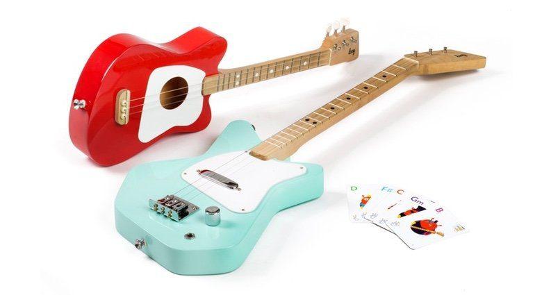 Loog Guitars Pro Mini Kickstarter Teaser