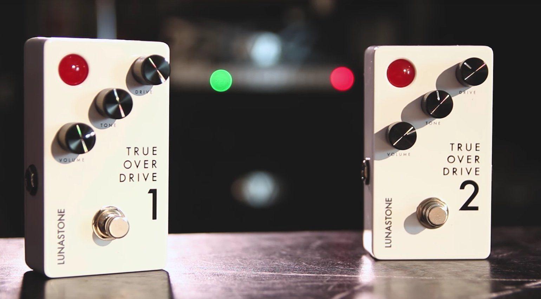 LunaStone TrueOverDrive V1 V2 Pedal Front