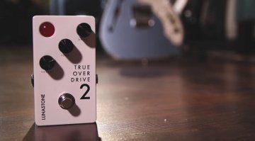 LunaStone TrueOverDrive2 Pedal Front Teaser