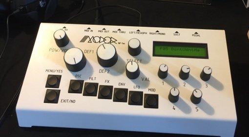 Superbooth 17: Modor NF-1 Filter Modul - neue Filter braucht das Land!